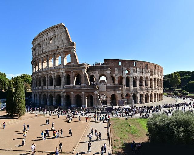 Mejores vistas del Coliseo de Roma