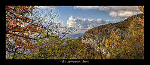 fall autumn colors mountains landscape scenic albania tirana tiranë sky adriatic