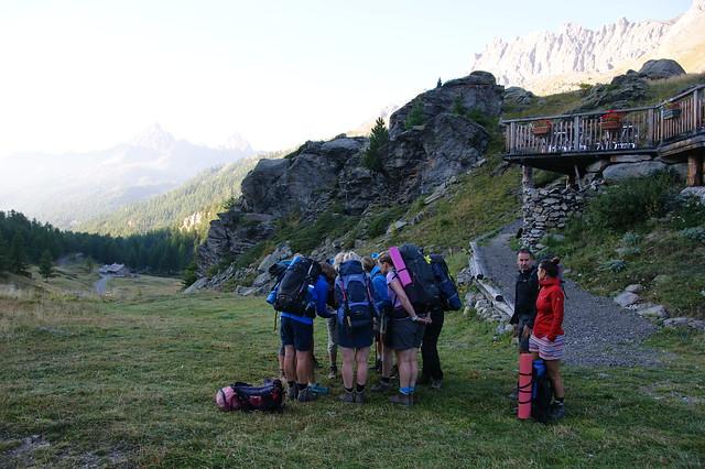 Yogatrekking in Parc National Des Ecrins
