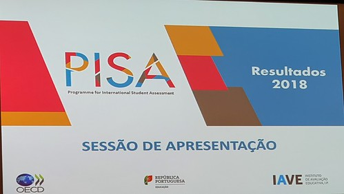 Apresentação dos resultados PISA 2018
