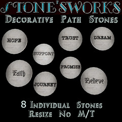 8 Stepping Stones Stone's Works