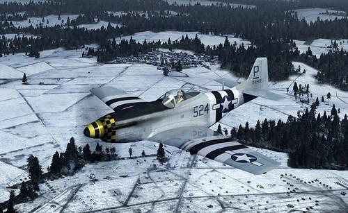 Wings of Prey - P-51D Mustang, 1944.