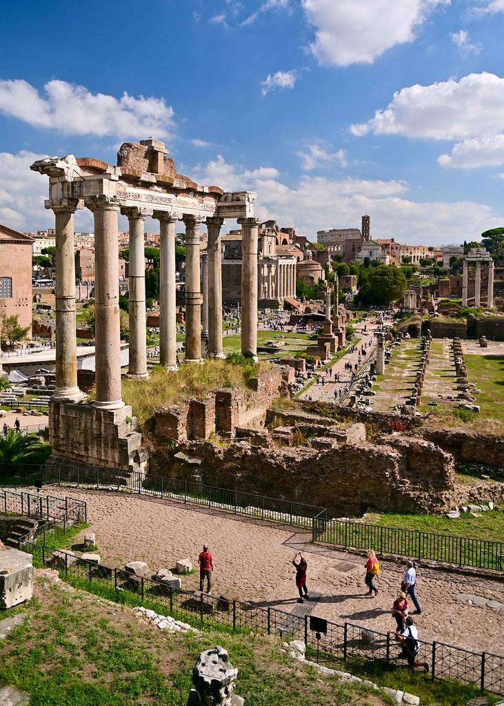 Vistas del Mirador del Campidoglio en Roma