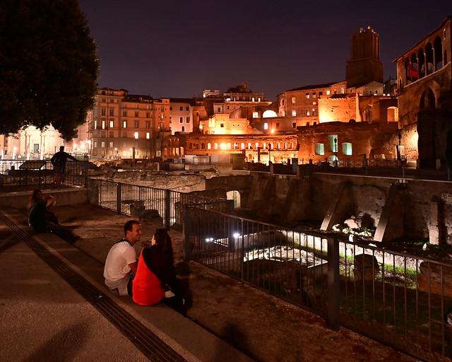 Mirador del Foro imperial en Roma