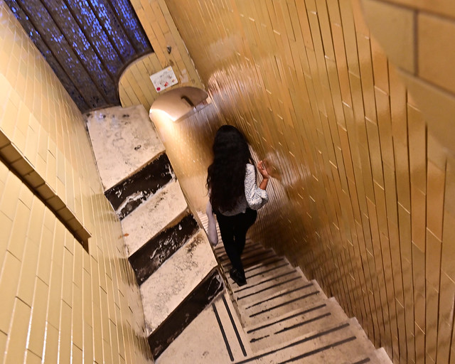 Escaleras de Subida a la cúpula del Vaticano