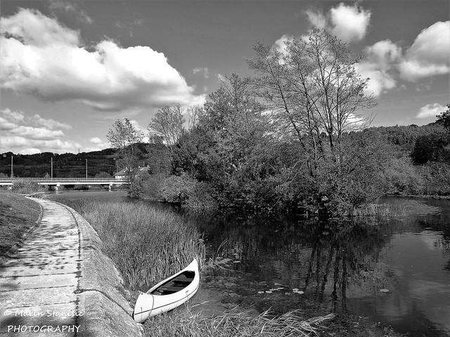 Croatia, Duga Resa - Walking by the river Mrežnica