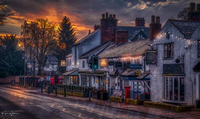 Worsley, Village Life