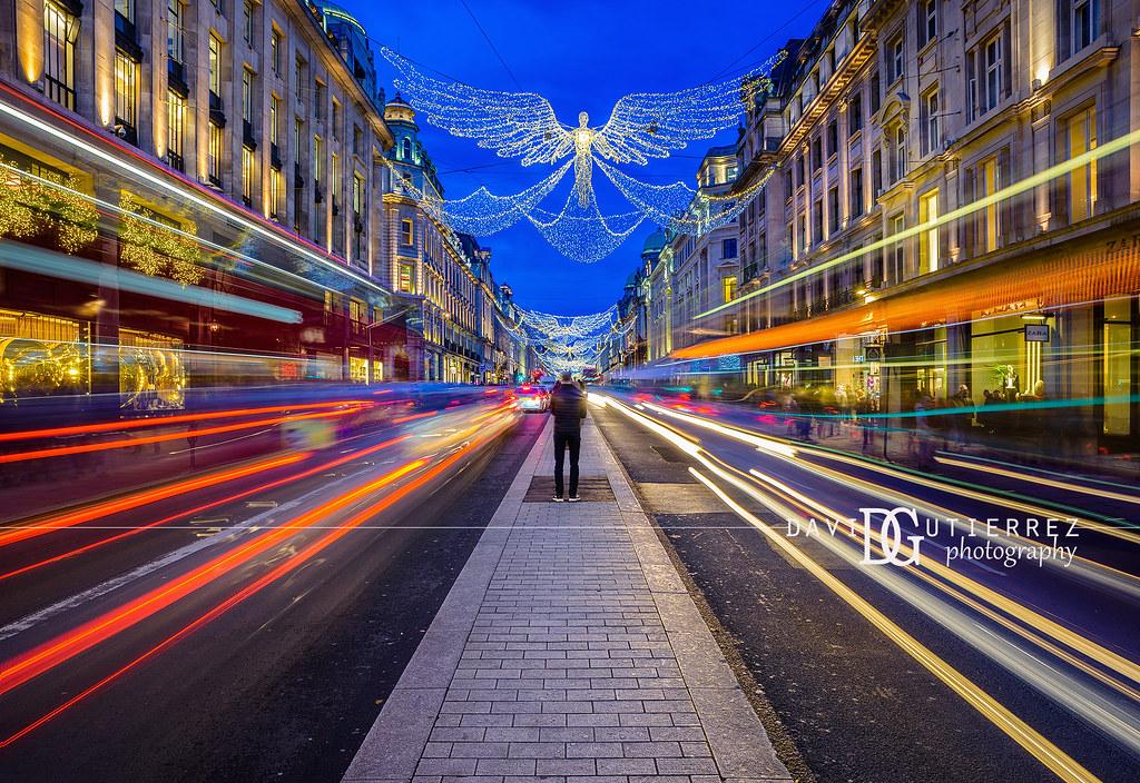 Spirit of Christmas - Regent Street, London, UK