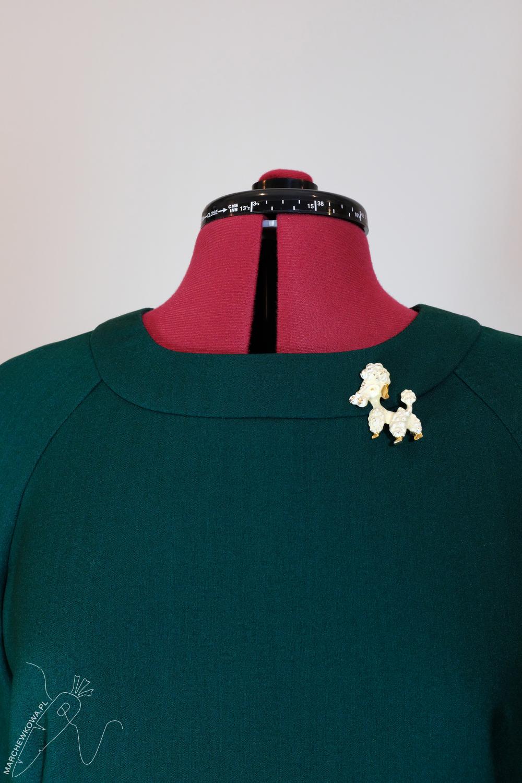 marchewkowa, pracownia, Wrocław szyje, krawiectwo, rękodzieło, retro, vintage, moda, Simplicity 8511, sewing, DIY, handmade, 1960s style