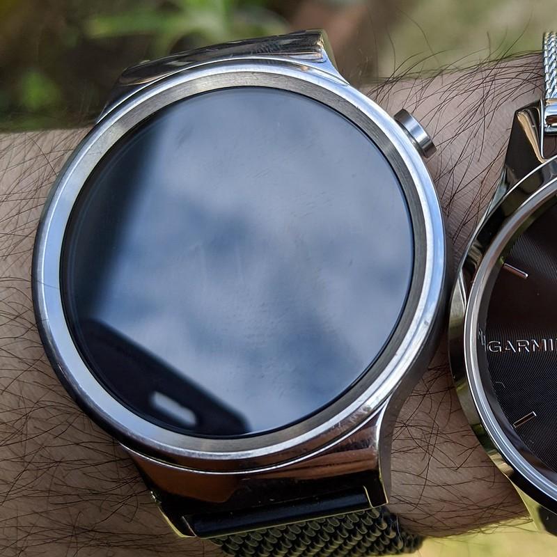 Huawei Watch W1(屋外)