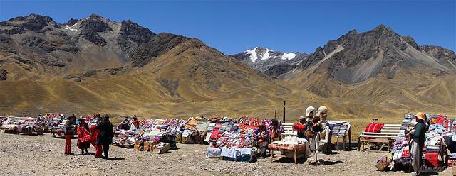 La Raya Pass Peru