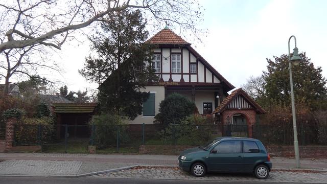um 1900 Berlin Landhaus Lu-Emma von Kuhlmann Hönower Straße in 12623 Mahlsdorf