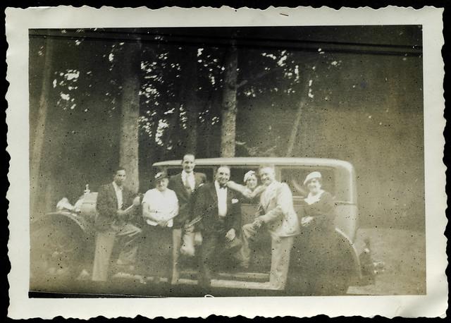 Archiv U668 Botschaftsangestellter, Familie, Paris, 1920-1935