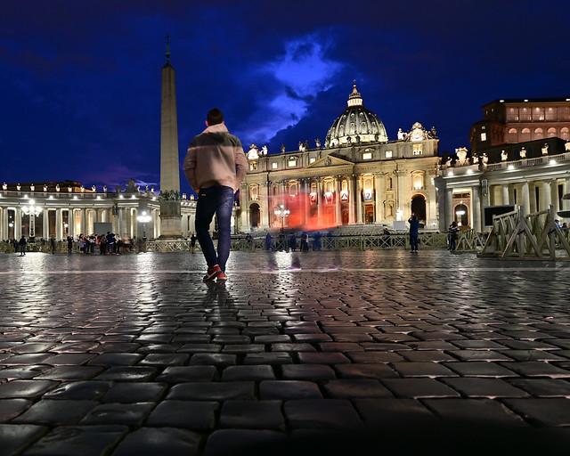 Hora mágica en el Vaticano, un imprescindible que ver en Roma en 4 días