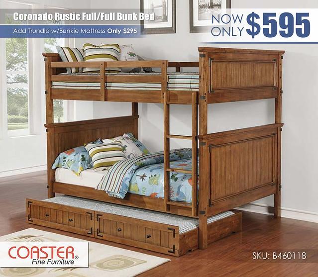 Coronado Rustic FF Bunk Bed_460118