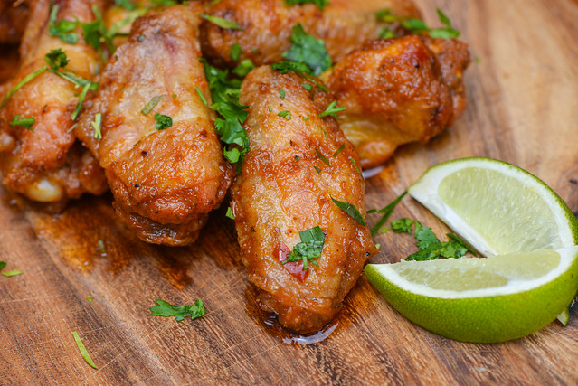 Thai Red Curry Wings