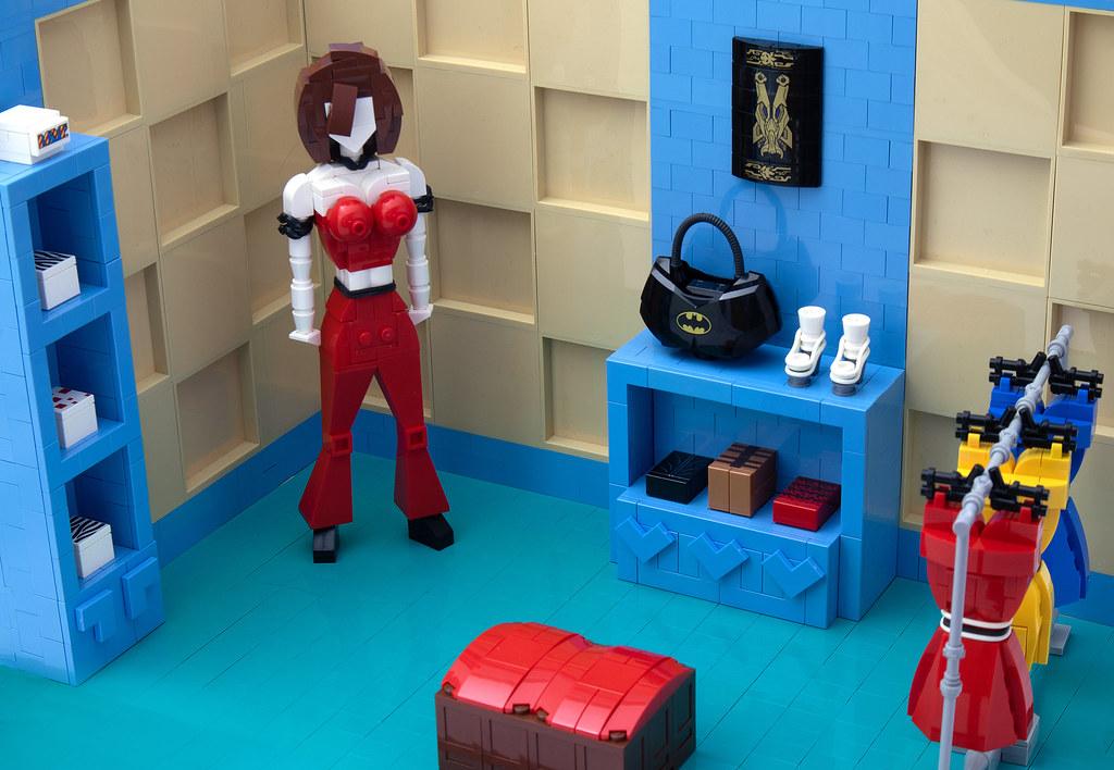 LEGO® MOC by vitreolum: Clothing Boutique