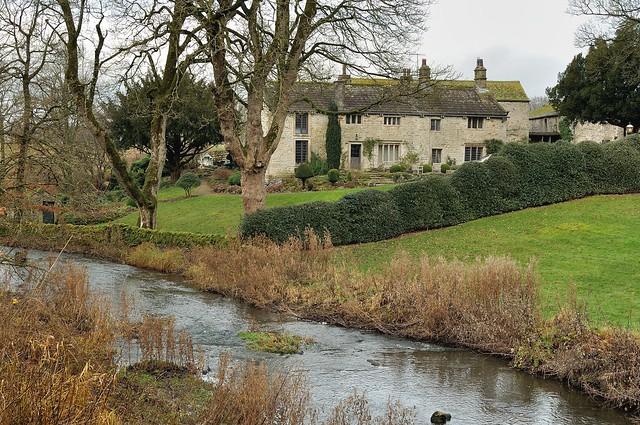 Linton village water side residence, by Helen.