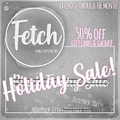 [Fetch] Holiday Sale - Extended!