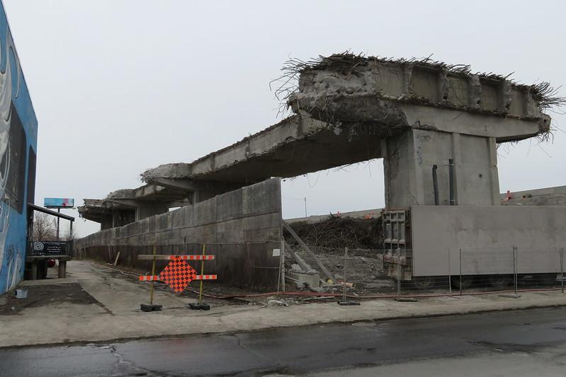 Turcot demolition - Eadie street