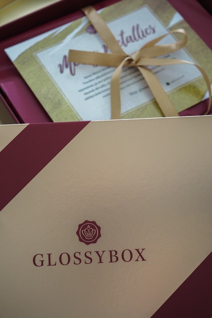 Glossybox marraskuu
