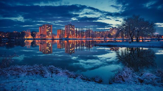 First snow 2. december