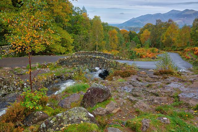 The classic shot of Ashness bridge