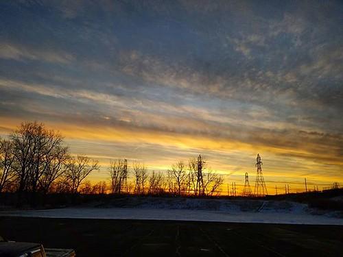 Morning sky #sun #clouds #sky #sunrise