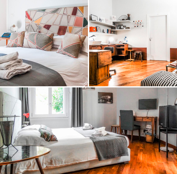 Mecenate Rooms, de las mejores opciones para alojarse barato en Roma