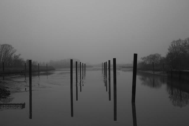 Hafen Haseldorf bei Ebbe
