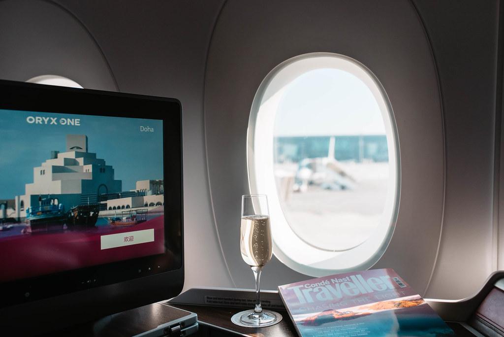 qatar airways välilasku