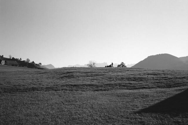 Farmer on the Hill  (Portra 160)