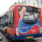Compass Bus YY66PGE On Route 7 in Worthing