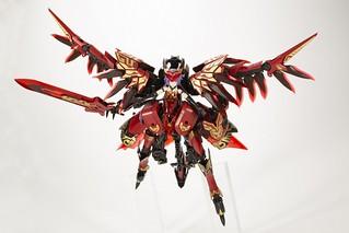 燃燒的鮮紅羽翼降世!壽屋『巨神機甲07EX  緋紅之翼 & 骨裝機娘 史蒂蕾特<特殊色彩>』【日本 AMAZON 限定】
