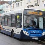 Stagecoach South 36036 GX57BHZ On Route 10 in Worthing