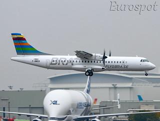 F-WWEB ATR72 FLYGBRA