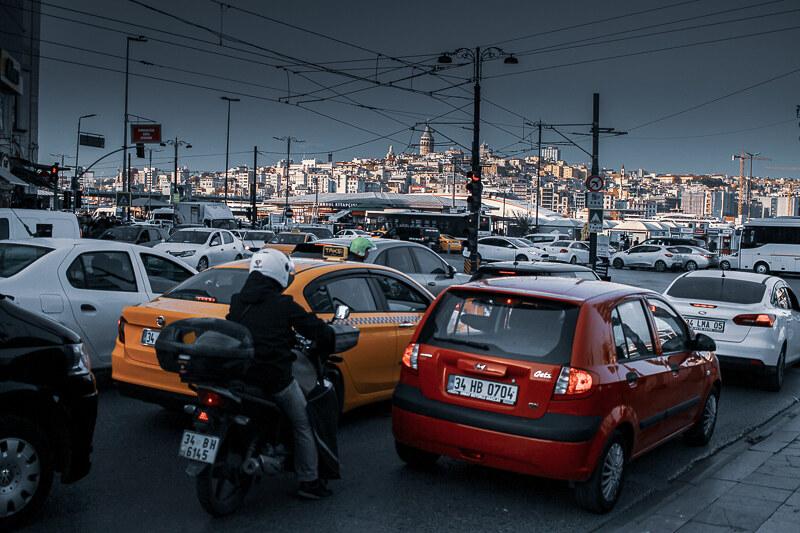 Transporte Estambul
