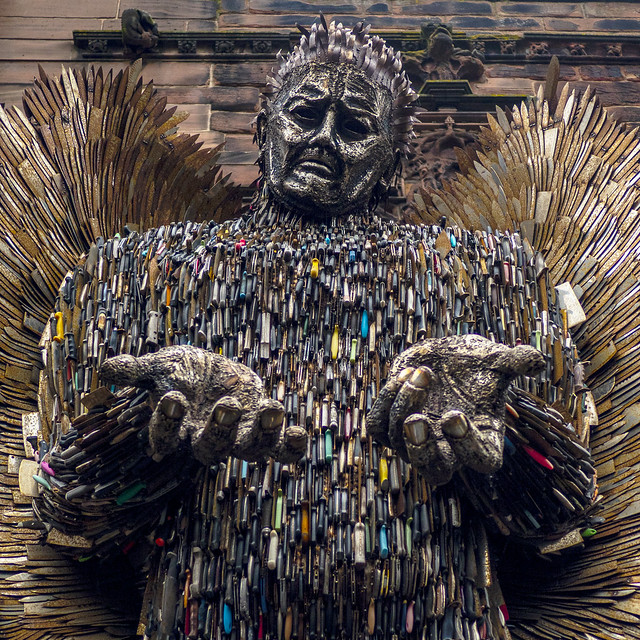 The Knife Angel 2
