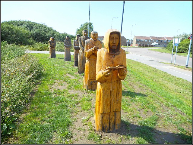 Sculptures of Six Monks ...