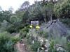 Panneaux sur le plateau de Ranedda à l'intersection des parcours suttanu et supranu