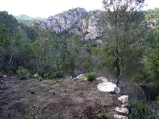Une première carbunara sur le sentier du Pisciaronu