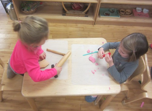 building finger muscles with clay