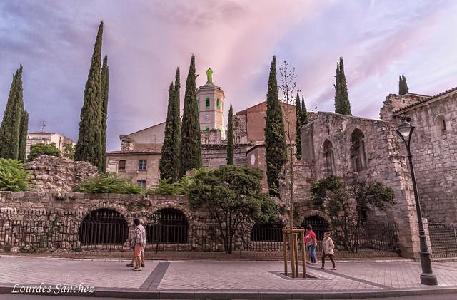 Ruinas de la Colegiata de Santa María la Mayor- Valladolid
