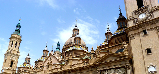 Espanha - Saragoça - Basílica Virgen del Pilar
