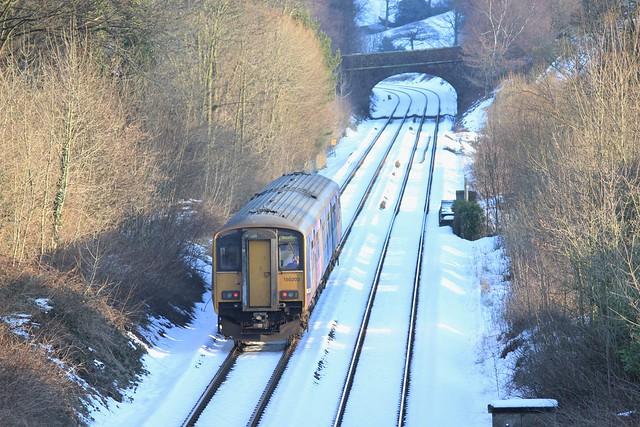 The long climb to Buxton...