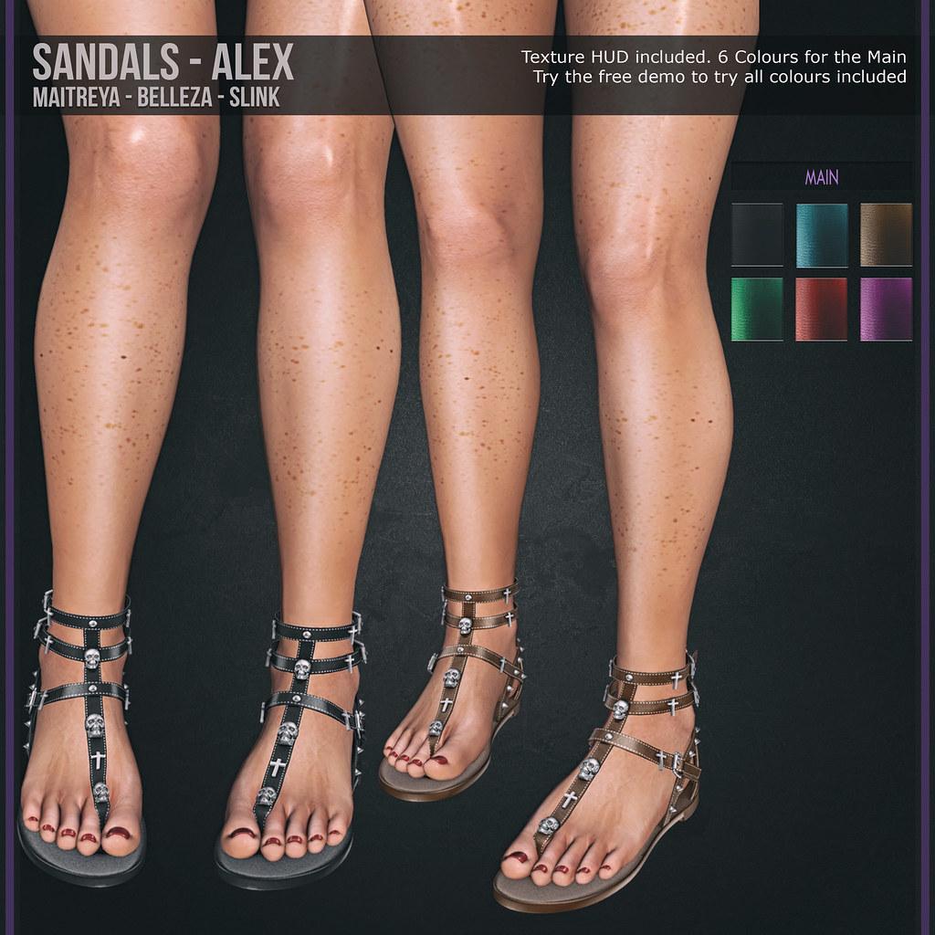 Sandals – Alex