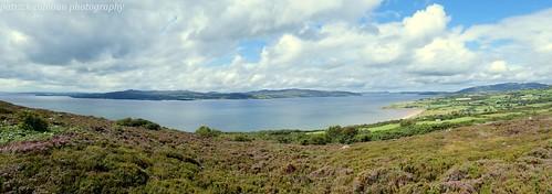 buncrana donegal landscape scenery loughswilly ireland inishowen lake nature