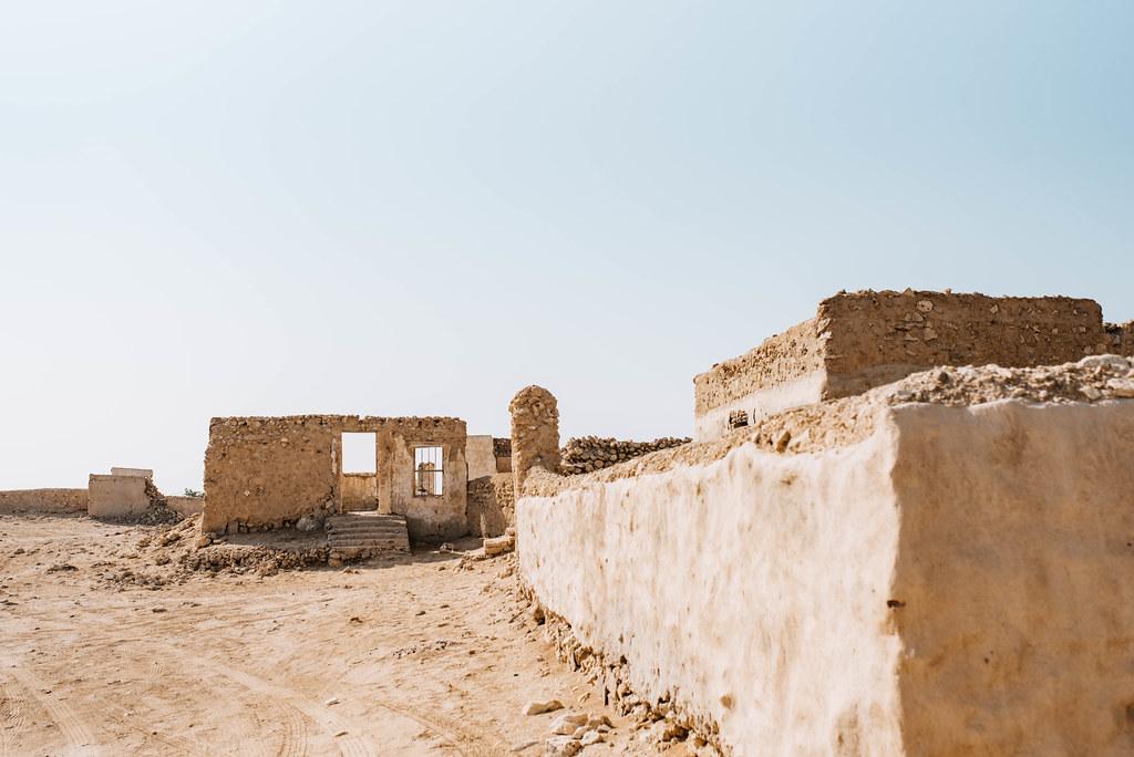 al jumail ghost town north qatar