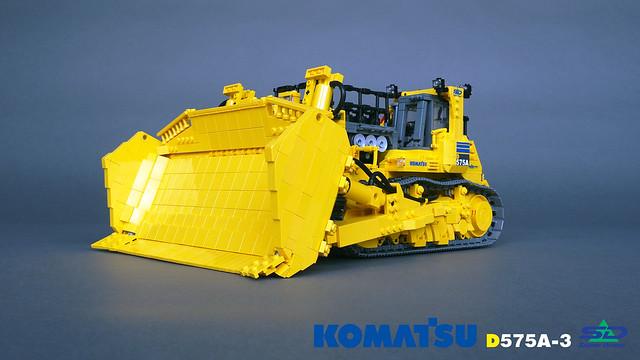 Komatsu D575A-3 Super Dozer