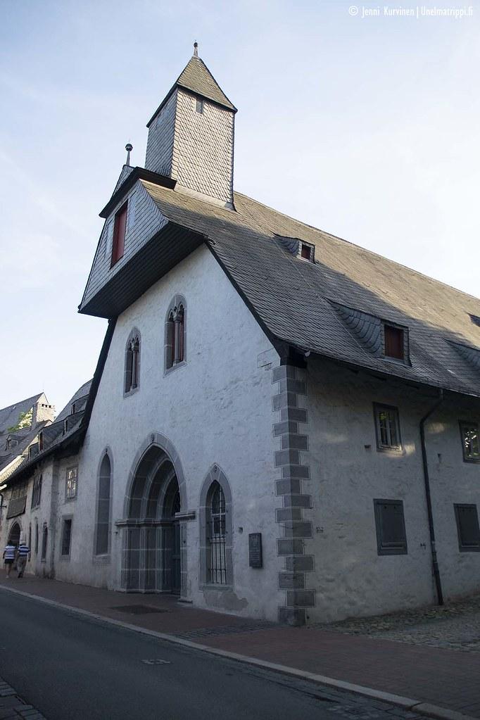 Vanha kivirakennus Goslarissa